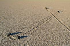 跑马场Playa,死亡谷(加利福尼亚) 免版税库存图片