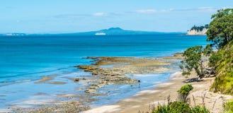 距离的海岛 图库摄影