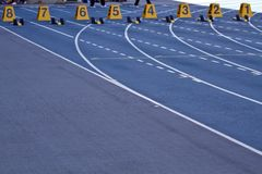 跟踪运输路线 免版税图库摄影