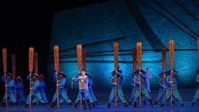 """跟随在他的父亲的脚步舞蹈戏曲海丝绸Road† """"The梦想  免版税库存照片"""