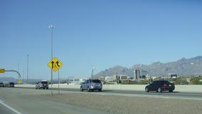 跨境10在图森, AZ 免版税库存图片