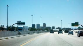 跨境10在图森, AZ 免版税库存照片