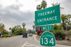 跨境134高速公路 免版税库存图片