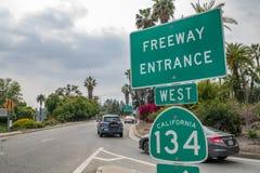 跨境134高速公路 免版税库存照片
