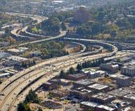 跨境5在西雅图 免版税图库摄影