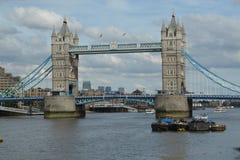 跨接伦敦塔 库存照片