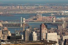 跨接城市纽约 免版税图库摄影