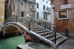 跨接威尼斯 库存照片