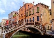 跨接威尼斯 免版税库存图片