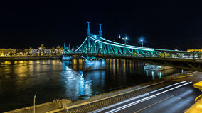 跨接布达佩斯自由 免版税库存照片