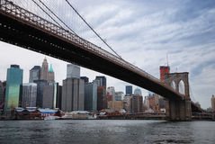 跨接布鲁克林市纽约 免版税库存图片