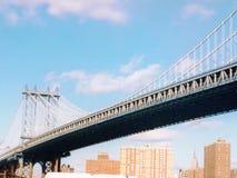 跨接曼哈顿 免版税库存图片