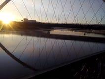 跨接河 免版税图库摄影
