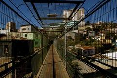 跨接用城市连接波朗科电梯 免版税图库摄影