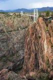 跨接皇家的峡谷 库存照片