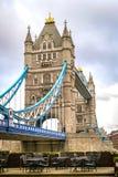 跨接英国伦敦塔 库存图片
