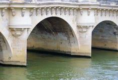 跨接巴黎 库存图片