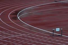 跨栏赛跑 免版税图库摄影