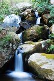 跨步瀑布 免版税库存照片