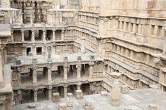 跨步的水井Patan 库存图片