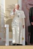 跨的教皇弗朗西斯的世界青年日2016年方式 库存照片