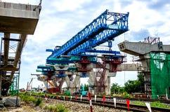 跨线桥的建筑 库存照片