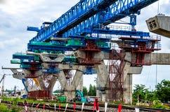 跨线桥的建筑 库存图片