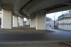 跨线桥 免版税库存图片
