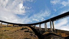 跨线桥 库存图片