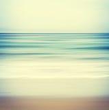 跨被处理的海景 库存图片
