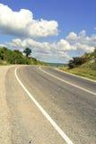 路。克里米亚 免版税库存图片