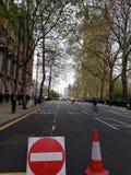 路为揭幕主张扩大参政权者在议会正方形,伦敦的` s雕象关闭了 库存照片