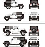 路体育运动suv卡车 免版税图库摄影