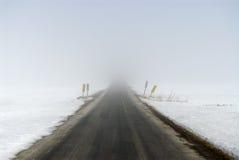 路冬天 免版税图库摄影