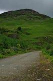 路到在圣Fillans的苏格兰高地里 库存图片