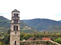 路卡的塔钟楼 库存图片