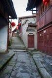 ----路名列前茅十最有吸引力的镇重庆的孔镇一 库存照片