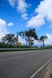 路和天空 图库摄影