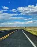 路在亚利桑那 库存照片