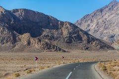 路在伊朗 库存照片