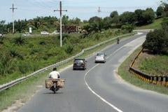 路在内部印度尼西亚 免版税库存照片