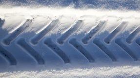 路在冬天 图库摄影