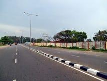 路在喀拉拉 免版税库存图片