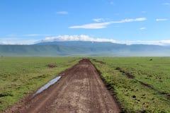 路在坦桑尼亚 库存图片