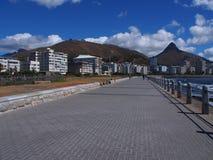 路在开普敦,南非 免版税图库摄影