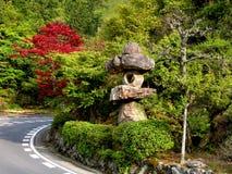 路在日本 库存照片