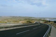 路在马耳他B 免版税库存图片