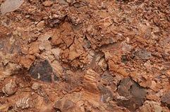 路岩石副纹理 库存图片