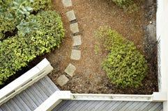 路径台阶石头 免版税库存照片