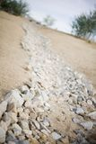 路径岩石 库存图片